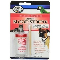 Polvo Coagulante para Uñas - Four Paws Quick Blood Stopper 14gr.