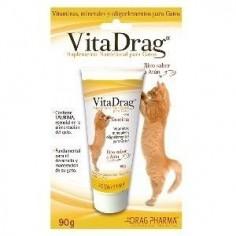 Drag Pharma - VitaDrag- Suplemento nutricional para gatos 90 grs.