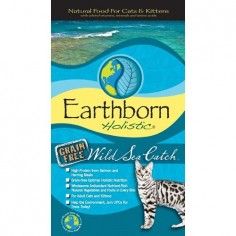 Earthborn - Wild Sea Catch Grain Free - Alimento Holistico para Gatos - 6,3kg