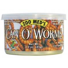 Zoo med Can o´worms - tenebrios enlatados - 35gr