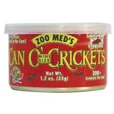 Zoo med´s - Can O´Crickets - Grillos enlatados 35gr