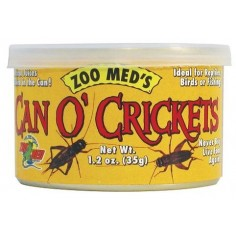 Zoo Med - Can o´Crickets Grillos adultos enlatados 35gr