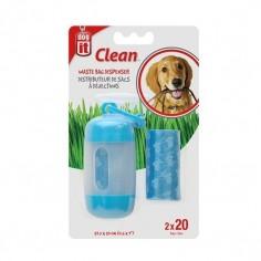 Dispensador de Bolsas para desechos de Perros - Azul